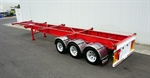 2011 Reids 40Ft Tri-Axle Skel Trailer